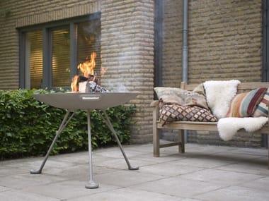 Wood-burning firebow LOTUS
