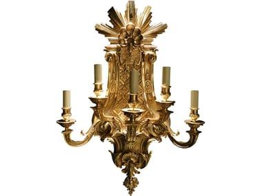 Lampada da parete in bronzo in stile classico LOUIS XIV