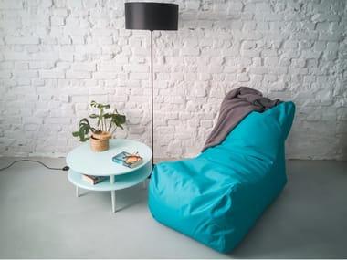 Fabric bean bag with removable cover LOUNGE OX