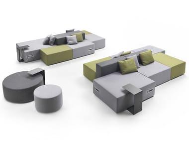 Sectional modular sofa LOUNGE | Sectional sofa