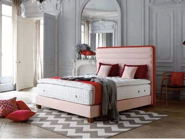 Fabric headboard for double bed LOUNGE