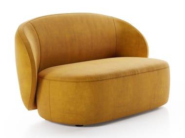 Petit canapé en tissu LOVESEAT GUEST