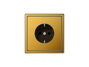 Presa elettrica in oro LS 990 | Presa elettrica foglia oro