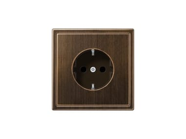 Brass electrical outlet LS 990 | Brass electrical outlet