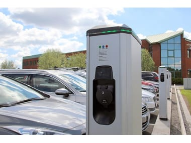 Electric Vehicle Charging Station LS4 2 X 3.7KW OUTLETS