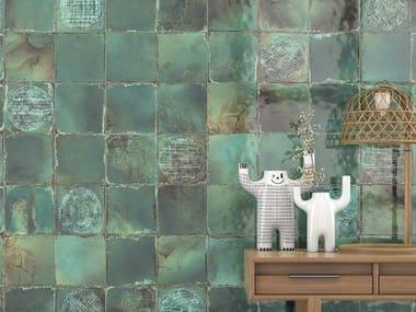 White-paste wall tiles LUCA