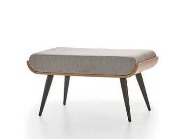 Fabric footstool LUCE | Footstool