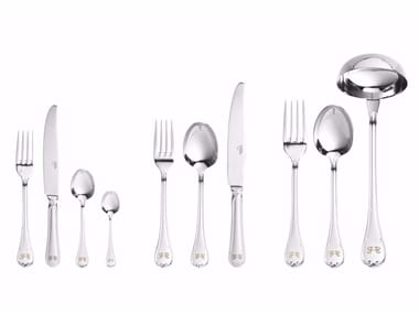 Stainless steel cutlery set LUCY