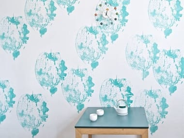 Screenprinted wallpaper LUGANO | Wallpaper