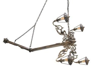 Lampada a sospensione in ottone LUMIERE | Lampada a sospensione