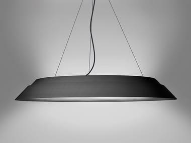 Lampada a sospensione a LED acustica in alluminio LUNA NUOVA