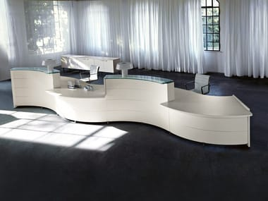 Office reception desk LUNA