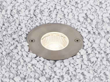 Segnapasso a LED in acciaio inox per esterni con dimmer LUNAR M