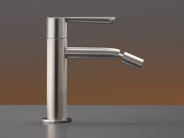 Miscelatore per lavabo da piano monocomando in acciaio inox con bocca orientabile LUTEZIA PLUS 15