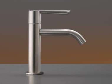 Miscelatore per lavabo da piano monocomando in acciaio inox LUTEZIA PLUS 16