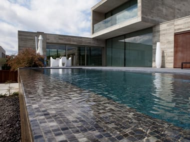 Glass Pool liner / mosaic LUX