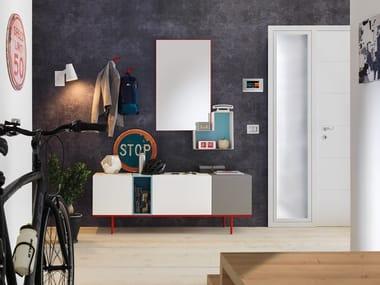 Wooden hallway unit LV209 | Hallway unit