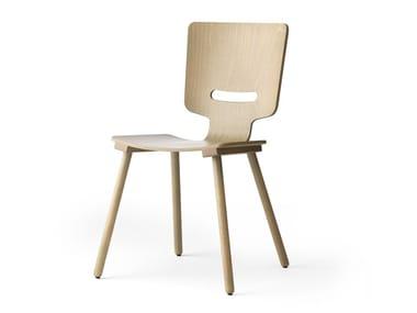 Ergonomic beech chair LX683 | Chair