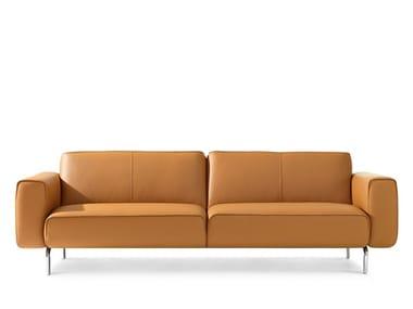 3 seater leather sofa LX688 | 3 seater sofa