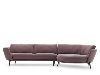 Modular fabric sofa LXR08 | Modular sofa