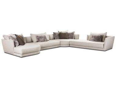 Sectional fabric sofa LYNDON | Sectional sofa