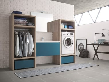image related Mobile lavanderia con lavatoio