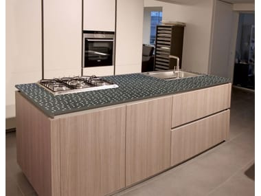 Stone kitchen worktop Lava stone kitchen worktop