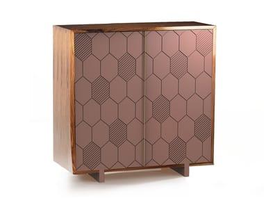 Wooden bar cabinet LEWIS | Bar cabinet