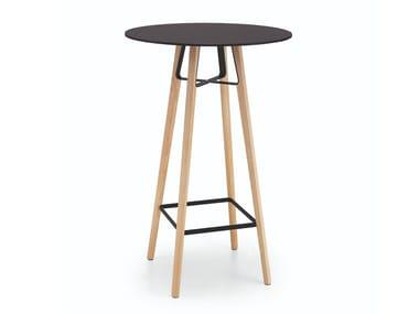 Wooden table base LIÙ | Table base