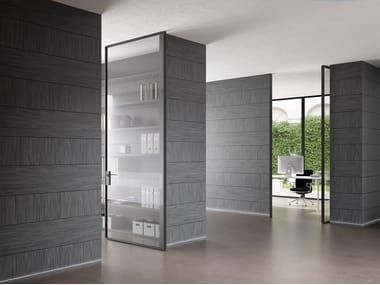 Pivot door Linea Vertical Pivot Door