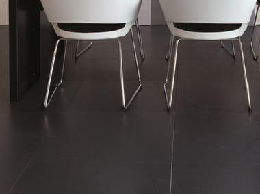 Pavimento sopraelevato con linoleum Pavimento in linoleum