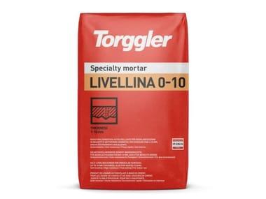 Rasatura cementizia autolivellante per spessori fino a 10 mm Livellina 0-10