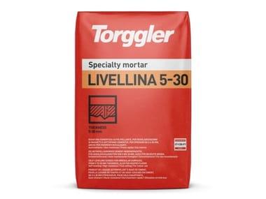 Rasatura cementizia autolivellante per spessori da 5 a 30 mm Livellina 5-30
