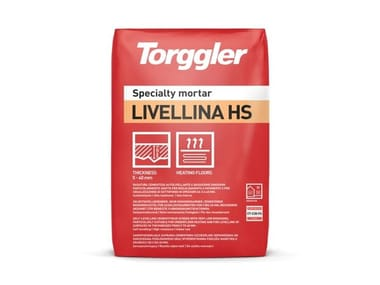 Rasatura cementizia autolivellante per spessori da 5 a 40 mm Livellina HS