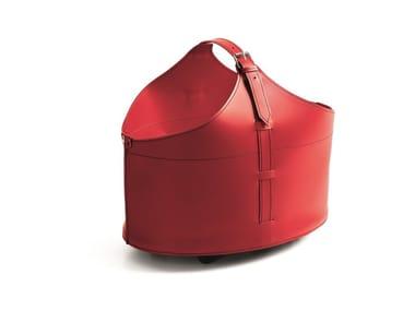 Bonded leather storage box FABIA