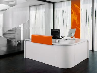 Reception Per Ufficio : Banchi reception per ufficio in lamiera archiproducts