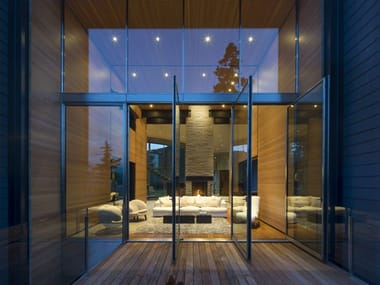 Metal horizontally pivoted window M55 | Horizontally pivoted window