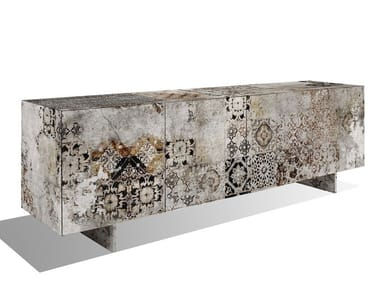 Contemporary style wood-product sideboard with doors MA-3
