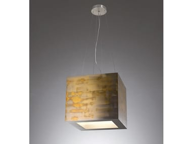 Brass pendant lamp MA15 TOM BOX