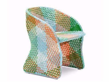 Cadeira lounge para jardim com braços MAAT | Cadeira lounge