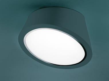 Plafoniera a LED a luce diretta in poliuretano espanso MABELL PL