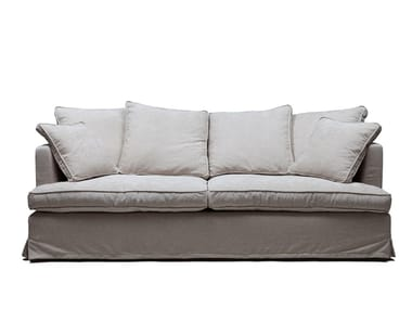 Fabric sofa with removable cover MAC