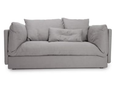 Sectional modular fabric sofa MACCHIATO SOFA