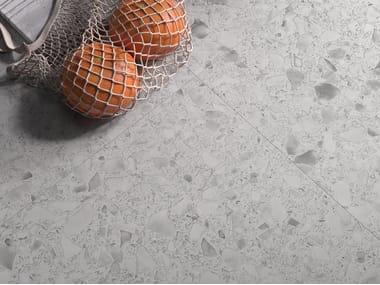 Porcelain stoneware wall/floor tiles terrazzo effect MACRO