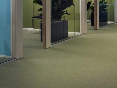 Solid-color carpeting MACRO MELANGE