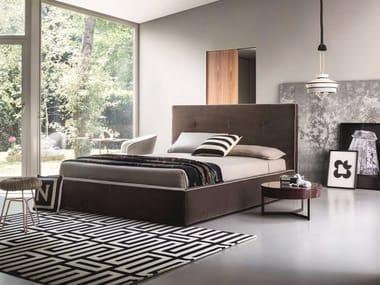 Fabric double bed MADAMA