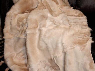 Plaid in pelle di capra MADDY