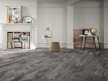 Porcelain stoneware flooring with wood effect MADEIRA