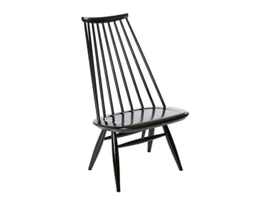 Birch easy chair high-back MADEMOISELLE | Easy chair