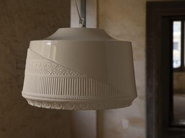 Ceramic pendant lamp MADEMOISELLE